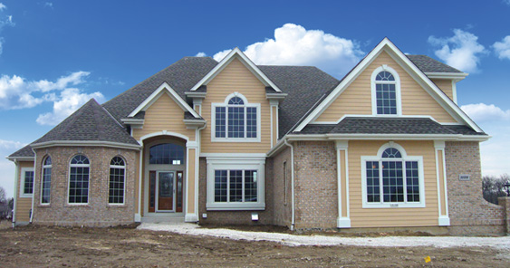 New home construction painting in Greater Milwaukee